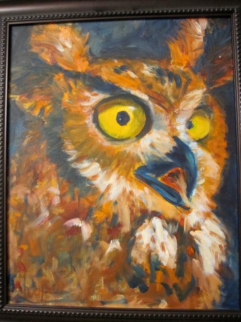 Psychic instructor owl